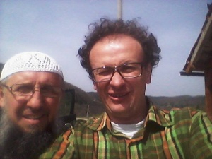 Selfie mit Izet Hadzic in Osva (Foto: Srdjan Puhalo)