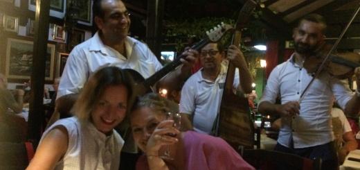Roma spielen im Restaurant Sesir Moj in Belgrad (Foto: Balkanblogger)