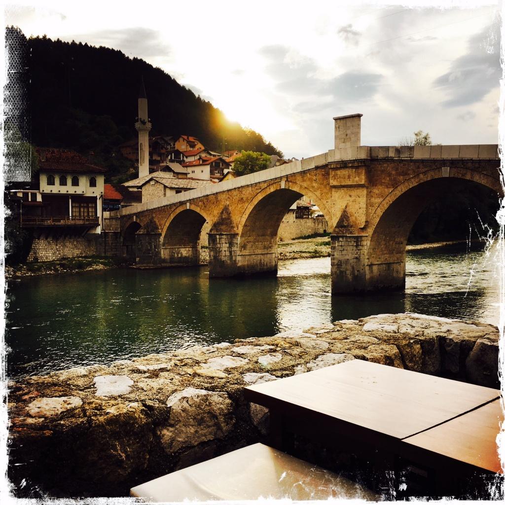 Die Alte Brücke in Konjic (Foto: balkanblogger.com)