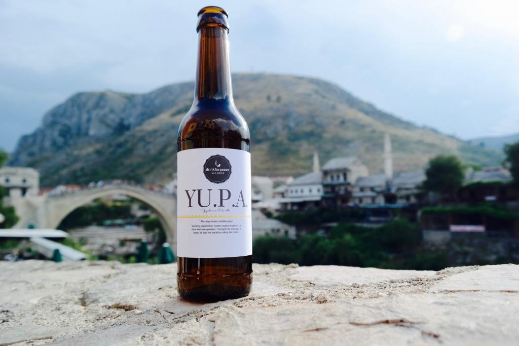 drinkforpeace - PIVO, das Yugoslavian Pale Ale, ist ein Bier mit Friedensbotschaft (Foto: Lena Eberhardt)