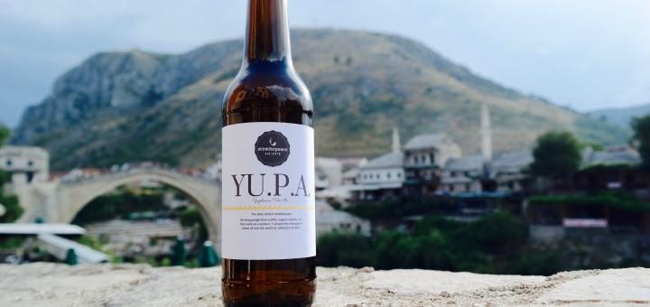 Drink for Peace - das Yugoslavian Pale Ale ist ein Bier mit Botschaft (Foto: Lena Eberhardt)