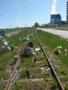 Das Kohlekraftwerk in Obilic/Kosovo ist eine schwerwiegende Belastung für Mensch und Umwelt (Foto: Rüdiger Rossig)